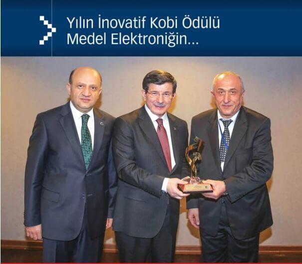 04042015101126 - Projelerimize Bir Ödül Daha! 2014 Yılı En İnovatif Kobi Ödülü: Medel Elektronik