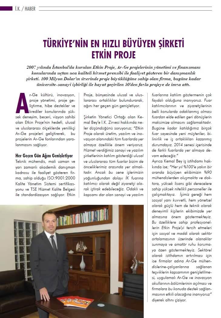 1072014021021 - Etkin Proje Kobilife Dergisi Şubat 2014 Sayısında
