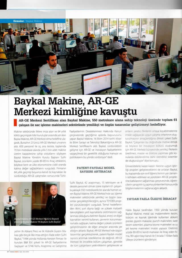 2 baykal - Etkin Proje'den Bir Ar-Ge Merkezi Daha: Baykal Makine Ar-Ge Merkezi!