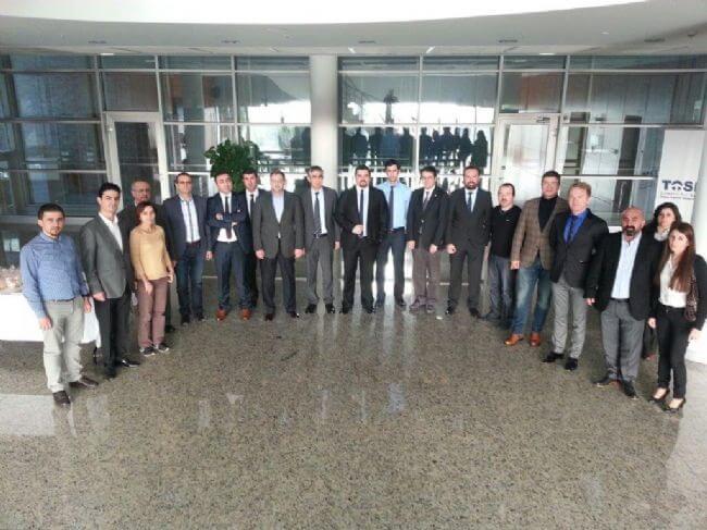 22012015140441 - TAYSAD Üyelerine Ar-Ge Merkezi Tanıtımı Yapıldı - Kocaeli