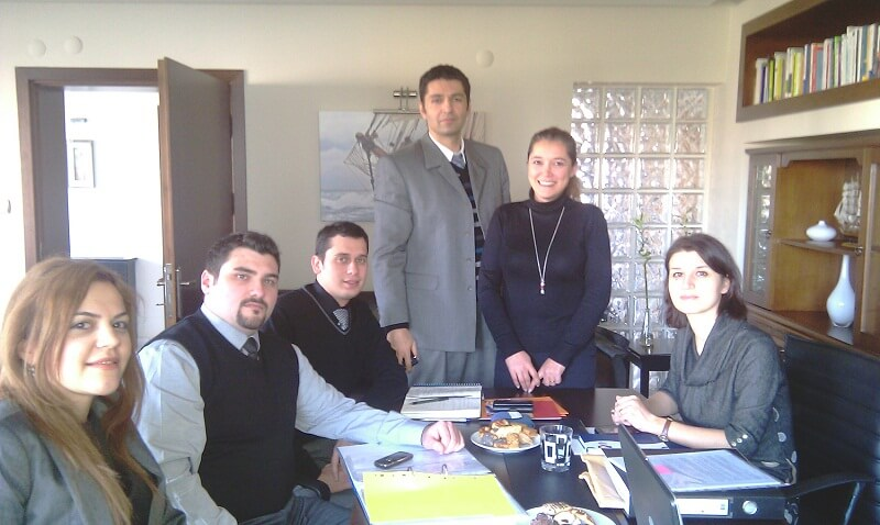 2UXO24Jistka1 - Köprü projemizin ilk değerlendirme toplantısını proje ekibimizin katılımı ile başarı ile tamamladık.