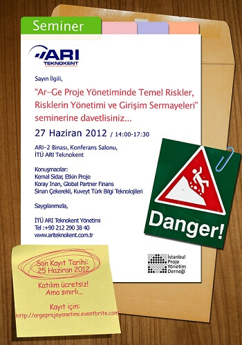 RT0TTE4ArgeProjeYonetimi - ARI TEKNOKENT & IPYD 27.06.2012 Tarihli Etkinlik