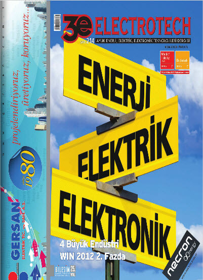 TLOCHK03e - Etkin Proje 3e Electrotech Dergisi Nisan Sayısında