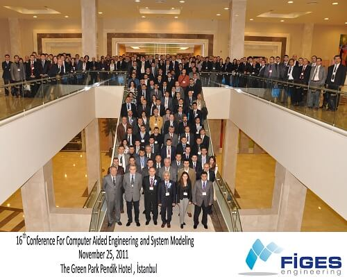 Y0CUKII1 - FİGES A.Ş. tarafından düzenlenen 16. Bilgisayar Destekli Mühendislik ve Sistem Modelleme Konferansı Otomotiv ve Savunma Yan Sanayinde Co-Design ve AR-GE başlığı ile 25 Kasım 2011 tarihinde İstanbul' da gerçekleşti.